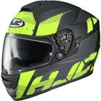 Matte Black/Fluorescent Green RPHA St Knuckle MC-4HF Helmet - 0802-1234-08