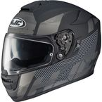 Matte Black/Gray RPHA-10 St Knuckle MC-5F Helmet - 0802-1235-08