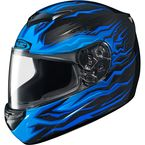 Black/Blue CS-R2 Flame Block MC-2 Helmet - 0812-2002-06
