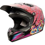 Youth Matte Black V1 Dragnar Helmet - 11961-255-L