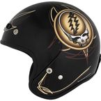 Grateful Dead Steal Your Face Vintage Half Helmet - 645348