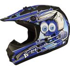 Youth Black/Blue GM46.2 Superstar Helmet - 72-6693YS