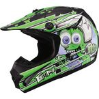 Youth Black/Green GM46.2 Superstar Helmet - 72-6695YL