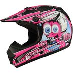 Youth Black/Pink GM46.2 Superstar Helmet - 72-6699YL