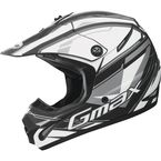 Matte Black/White/Silver GM 46.2 Traxxion Helmet - 72-6651M