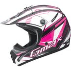 Youth Black/Pink/White GM46.2 Traxxion Helmet - 72-6659YL