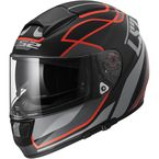 Matte Black/Red Vector Vantage Helmet - 397-6303