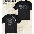 Black SOA Reaper Crew Two Sided T-Shirt - 28-635-74-XXL