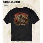 Samcro Men of Mayhem T-Shirt - 28-601-42BK-M