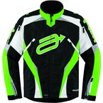 Black/Green Comp 7 Jacket - 31200955