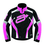 Womens Black/Pink Comp 7 Jacket - 3121-0293