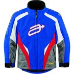 Youth Blue/Red Comp 7 Jacket - 31220212