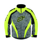 Youth Hi-Viz Yellow Comp 7 Jacket - 3122-0216