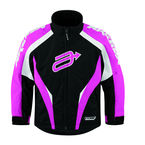 Youth Black/Pink Comp 7 Jacket - 31220223