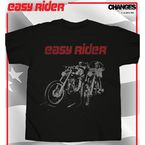 Posterized Bike Riders T-Shirt - 07-301-5BK-L
