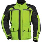 Womens Hi-Visibility Yellow/Black Transition 3 Jacket - 8777-0313-74