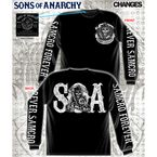 SAMCRO Forever Long Sleeve T-Shirt - 28-431-109BK-M