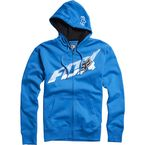 Electric Blue Superfaster Zip Hoody - 02440-029-S
