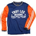 Blue/Orange Super Retro Jersey - 2781-0308