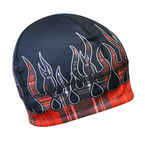 Red Flannel Flame Gas Cap Beanie - GCRFLX