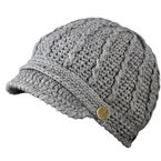 Womens Light Gray Peak Beanie - 5009-000-000-660