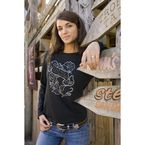 Womens Metal Health Long Sleeve Tee - 3157S