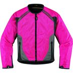 Womens Pink Anthem Jacket - 2822-0509