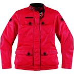 Womens Mischief Red Akorp Jacket - 2822-0523