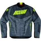 Green/Gray Hooligan Jersey Jacket - 2820-2535