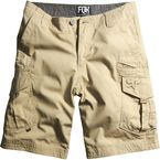 Dark Khaki Slambozo Solid Shorts - 04575-108-28