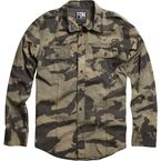 Camo Evert Long Sleeve Shirt - 04478-027-S