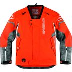 Orange Comp 8 RR Shell Jacket with Neck Brace Collar - 3120-1093