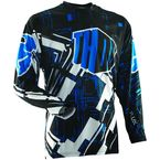 Blue Flux Block Jersey - 2910-2796