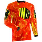 Yellow Flux Block Jersey - 2910-2803