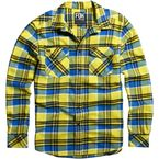 Blazing Yellow Long Sleeve Trent Shirt - 06380-366-M