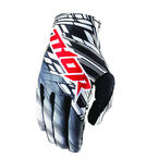Youth White/Black Multi Urban Void Gloves - 3332-0837
