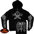 Reaper Wings Zip Hoody - GMZ4208XXL