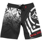 Hoist Black Boardshorts - 35-0608