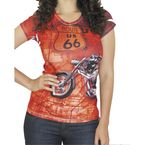 Ladies Route 66 Tee - BC210R