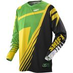 Satellite Green/Yellow Faction Jersey - 07238-287-M