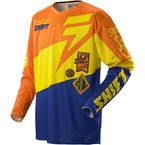 Slate Orange/Blue Faction Jersey - 07240-592-L