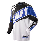 Race Blue/White Assault Jersey - 07244-025-M