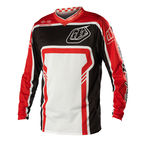 Black/Red Factory GP Air Jersey - 0724-0208
