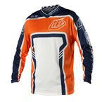 Youth Orange/Blue Factory GP Air Jersey - 0734-0706