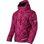 Womens Fuchsia Plaid Fresh Jacket