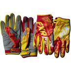 Yellow/Red Podium Warp Gloves - 13772