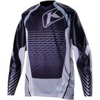Black/Gray Mojave Jersey (Non-Current) - 3109-002-140-000