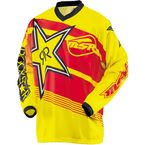 Yellow/Red Rockstar Jersey - 351712