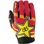 Youth Yellow/Red Rockstar Gloves - 351713