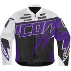 Womens Purple Hooligan Spaztyk Jersey Jacket - 2822-0660